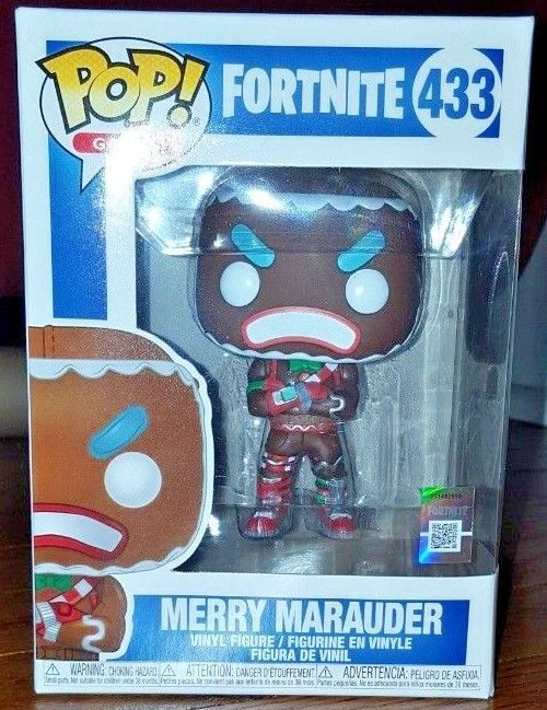 433 Merry Marauder Fortnite Figurine Funko Pop Vinyl Games