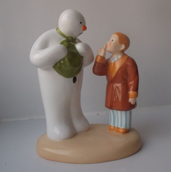 Boxed Coalport Snowman Figure Hush Don't Wake Them, £38.99 http://www.ebay.co.uk/itm/Boxed-Coalport-Snowman-Figure-Hush-Dont-Wake-Them-/251896893725