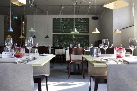 Pinterest de idee ncatalogus voor iedereen - Kleur trendy restaurant ...
