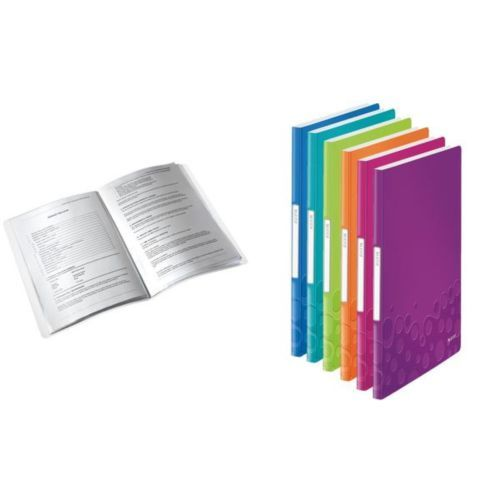 LEITZ-Sichtbuch-WOW-A4-PP-mit-40-Huellen-pink-metallic-4002432106134 4,62 €