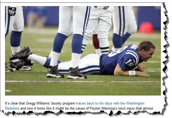 Peyton Manning injury