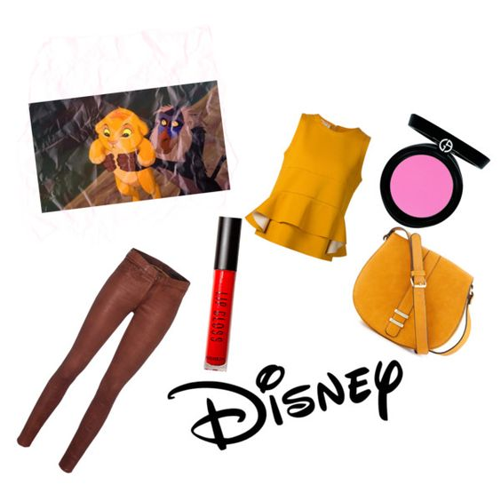 Simba by abigailrumble on Polyvore featuring polyvore, fashion, style, Marni, rag & bone, Neiman Marcus, Armani Beauty, Forever 21 and Disney