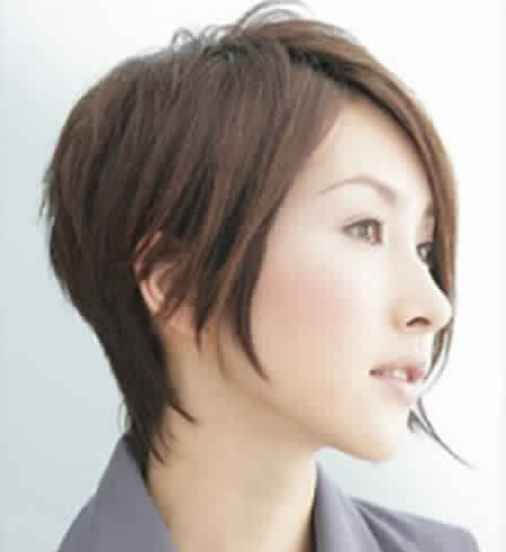 Fashionable Short Hairstyles Bob For Japanese Women 2018