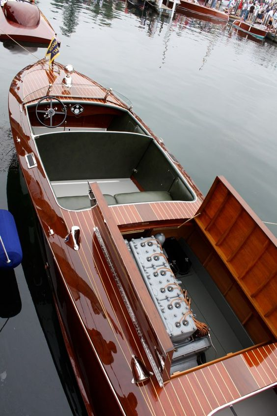 Saturday Live-ish From Hessel – As Wood As It Gets | Classic Boat News / Woody…