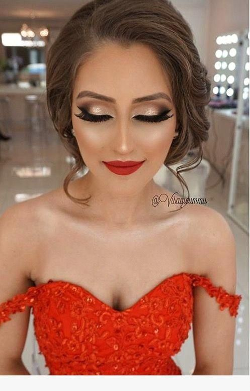 Must Have 80 Makeup Ideas To Try In 2019 Bridemakeup Red Dress