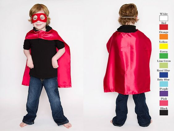 superhero capes in bulk party pack - for a non-sewer like myself :)