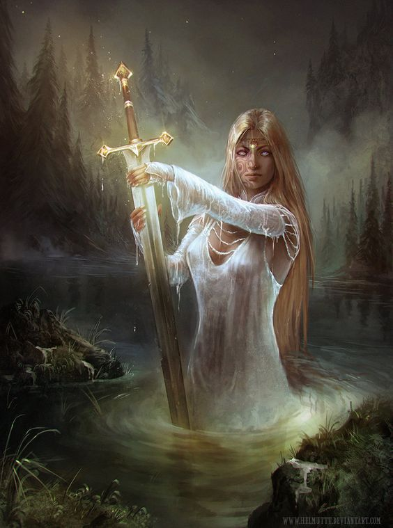 Albions Legacy Lady of the lake by HELMUTTT on DeviantArt