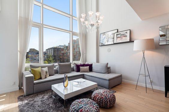 Oosten Williamsburg Duplex Home Living Room