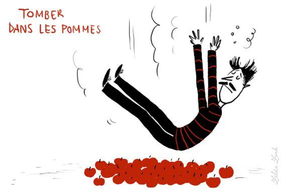 Ilustrações De Zelda Zonk: Expressões Que Os Franceses Falam! | Sofia Piassi
