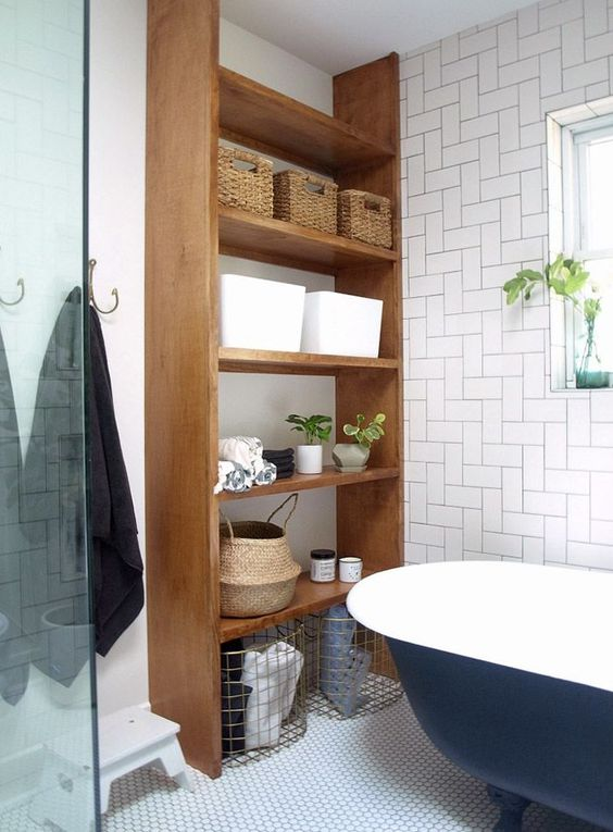 Before  After A Modern, Wheelchair-Accessible Bathroom / Design