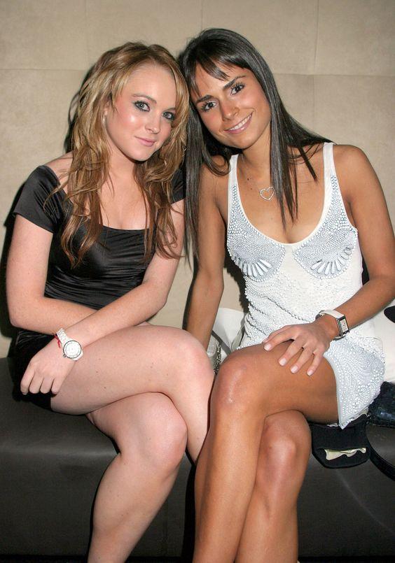 Jordana Brewster And Lindsay Lohan Jordana Brewster