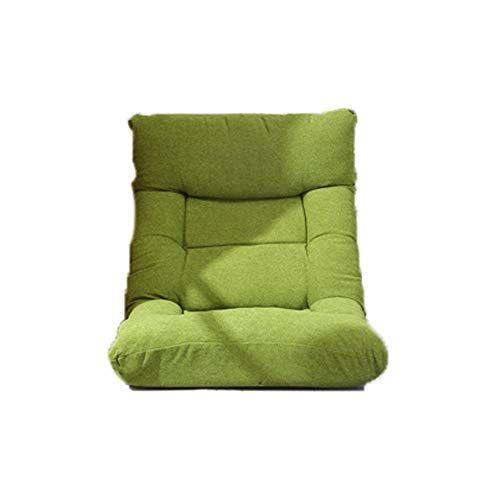 Fh Lazy Sofa Lever Adjustment Foldable Lazy Cushion Bay Window Leisure Bed Back Sofa Three Colors Optional Color Green Bay Window Bed Back Lazy Sofa