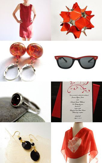 Black N red  by Roy Itzhack on Etsy--Pinned with TreasuryPin.com