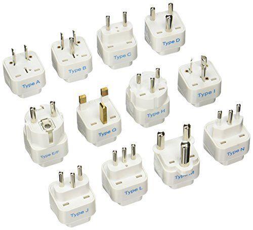 Ceptics Gp 12pk International Travel Worldwide Grounded Universal Plug Best Offer Ineedthebestoffer Com Universal Travel Adapter Universal Plug Adapter Travel Adapter