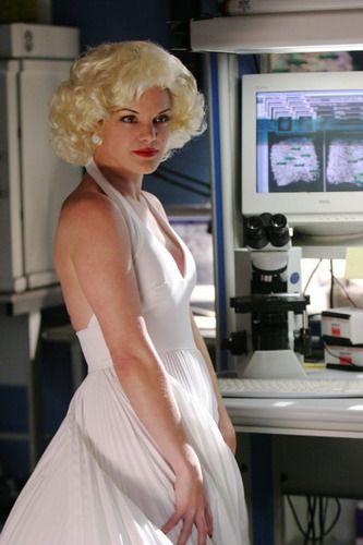 Abby jako Marilyn Monroe