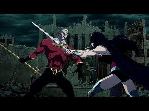 Wonder Woman Vs Aquaman Justice League The Flashpoint Paradox Youtube Flash Point Paradox Aquaman Justice League