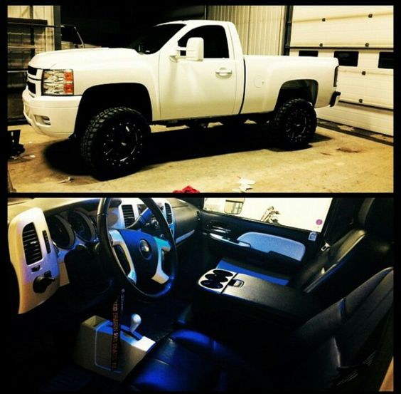 Single Cab Chevy With Tow Mirrors Lifted Trucks