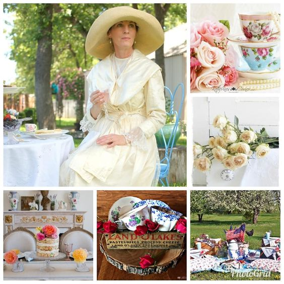 The Tea and Roses blog hop is perfect springtime loveliness. All of the links are available at www.decortoadore.net