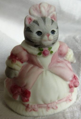 Thimble-Miniature-Bisque-Cat-SCHMID-B-SHACKMAN-92-KITTY-CUCUMBER-as-Cinderella