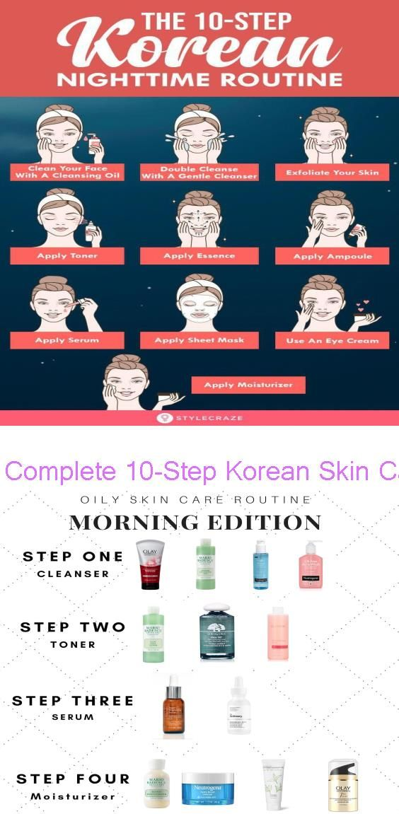 Complete 10 Step Korean Skin Care Routine For Morning And Night Aart Magazine Use Our Tip Morning Skin Care Routine Skin Care Routine Steps Skin Care Routine