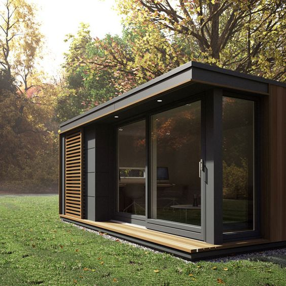 cabin idea garden studioes quick garden garden pods garden office