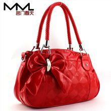 Prachtige rode handtas