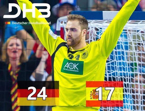 Handball-EM 2016 Live-Ticker: Deutschland - Spanien