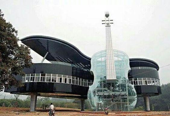 Un edificio con arte