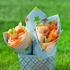 Truite fumée, et fromage blanc au citron: Sandwiches Wraps, Lemon, Cottage Cheese, Cheese, Revenue