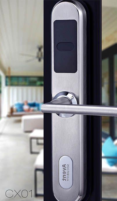 Avent Security Cx01 Stainless Steel Security Smart Lock Digital Door Lock Smart Door Locks Smart Lock