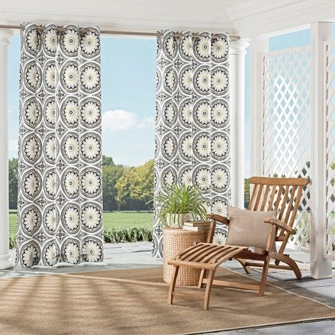 Cayman Indoor Outdoor Curtain Panel Parasol Target Outdoor Curtains Indoor Outdoor Curtains Outdoor Curtain Panels