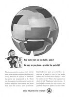 AT & T - Bell Telephone Instruments 1945 Ad Picture