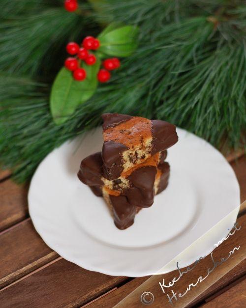 Kochen mit Herzchen - ♥ Mein Koch-Tagebuch mit viel Herz ♥: Weihnachtsbäckerei #6 - Rosinenecken