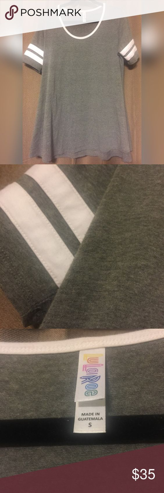 Small LuLaRoe Perfect T Like new condition, washed once per LLR instructions I need a medium... LuLaRoe Tops