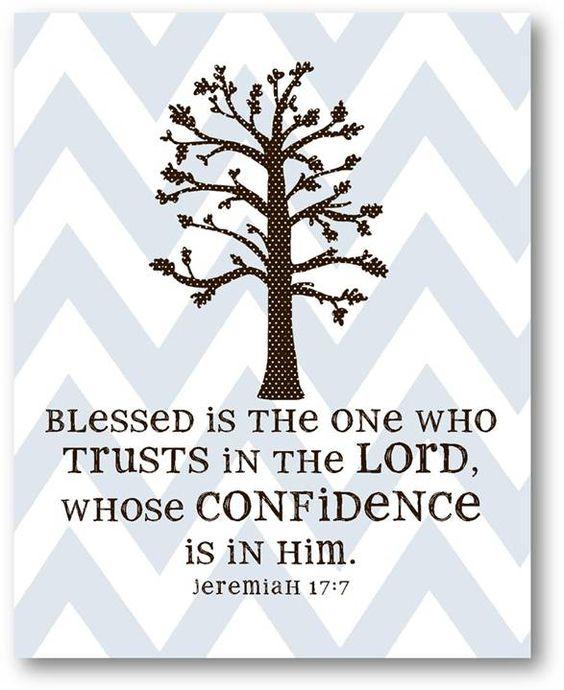 Confident in Jesus.