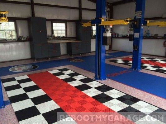 109 Amazing Garage Floor Tile Designs Garage Floor Tiles Floor