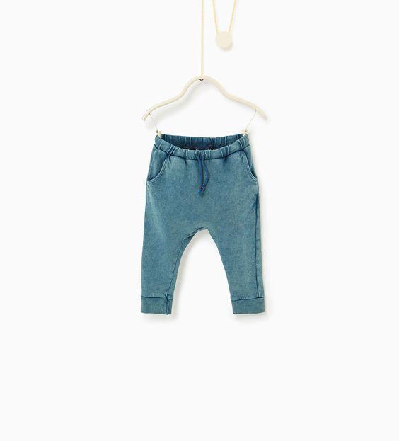 Worn effect trousers-TRENDING PICKS-BABY BOY | 3 months-3 years-KIDS | ZARA United States