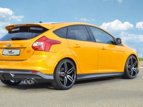 Rieger Side Skirts For Ford Focus St Rs Mk3 Carbon Look