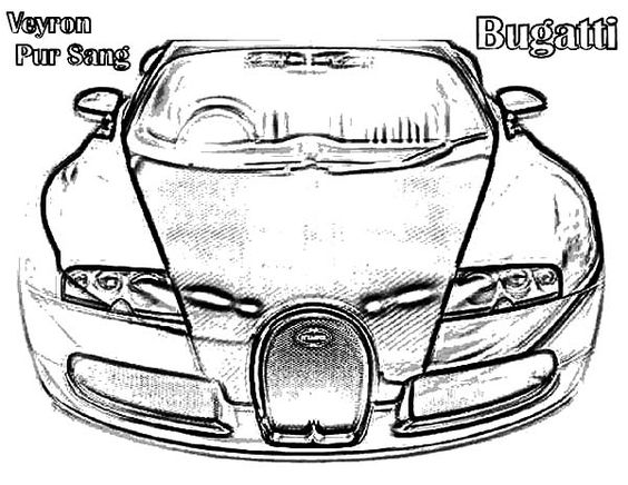 Bugatti Car Veyron Pur Sang Coloring Pages Best Place To Color Coloring Pages Cars Coloring Pages Batman Coloring Pages