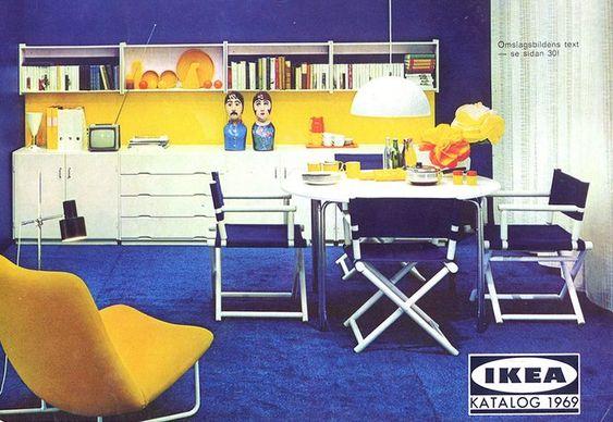 salón ikea 1969