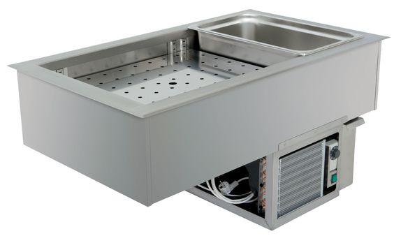 Nordcap Einbau-Kühlwanne (Stille Kühlung) EBW 1/1 S, steckerfertig - Kühlmöbel online kaufen
