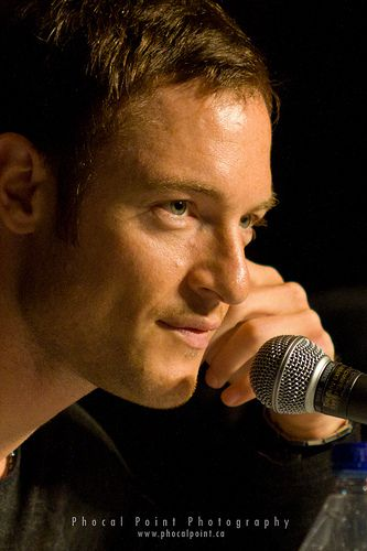 Tahmoh Penikett - He's from Canada.  I love his name even though I can't pronounce it.  #anotherfaveangel #Gadreel #SPN