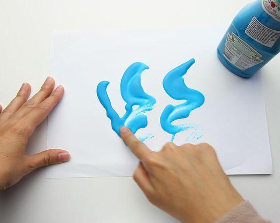 tinta nao toxica para crianças