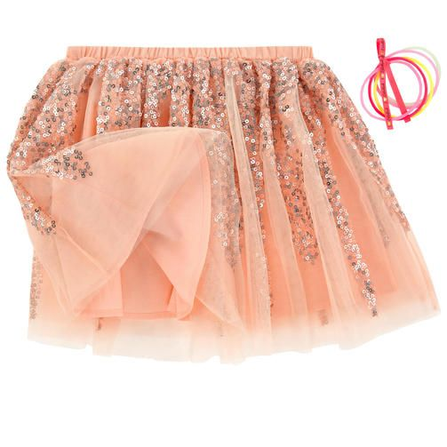 Billieblush - Tulle skirt with sequins - 154508