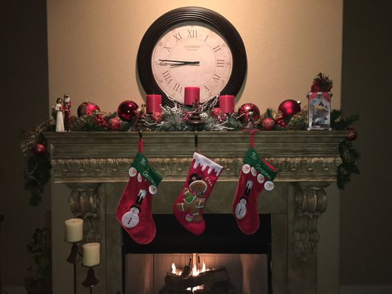 Mantel Christmas Decorations