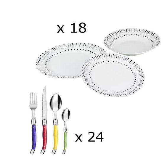 29.99 € ❤ Pour #Etudiant - Pack #Rentrée2016 : Service 18 #assiettes France Day + #Ménagère 24 couverts #Laguiole ➡ https://ad.zanox.com/ppc/?28290640C84663587&ulp=[[http://www.cdiscount.com/maison/art-de-la-table/pack-rentree-service-18-assiettes-france-day-me/f-117902508-bun18assie24couv.html?refer=zanoxpb&cid=affil&cm_mmc=zanoxpb-_-userid]]