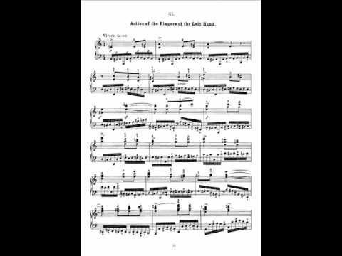 Czerny - The Art of Finger Dexterity Op.740, Book V - No.41