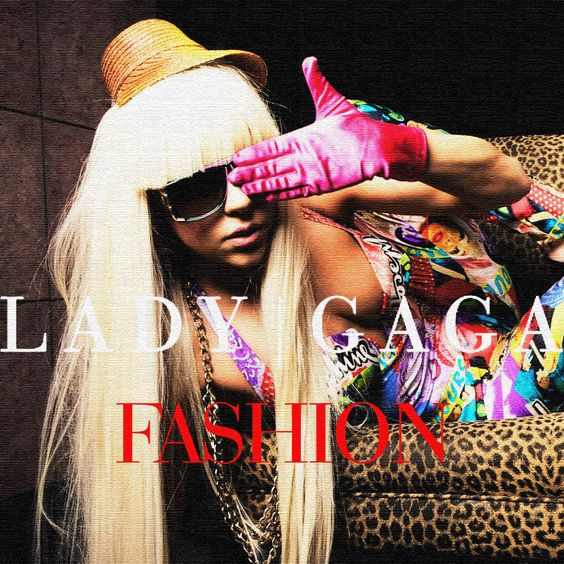 Lady Gaga – Fashion! (single cover art)