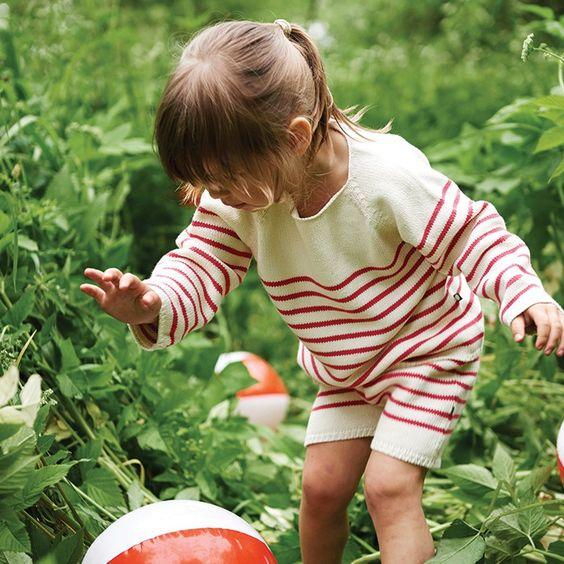 Oeuf OeufNYC SS16 Spring Stripe Sweater Kidswear Kids baby clothes clothing girls boys fashion