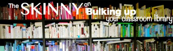 The Skinny on Bulking up Your Classroom Library. 5 Simple Tips to score books for your classroom cheap or free!